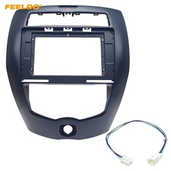 FEELDO Car Stereo 10.1 Inch Big Screen Fascia Frame Adapter For Nissan Livina 2Din Dash Audio Fitting Panel Frame Kit #CA6369