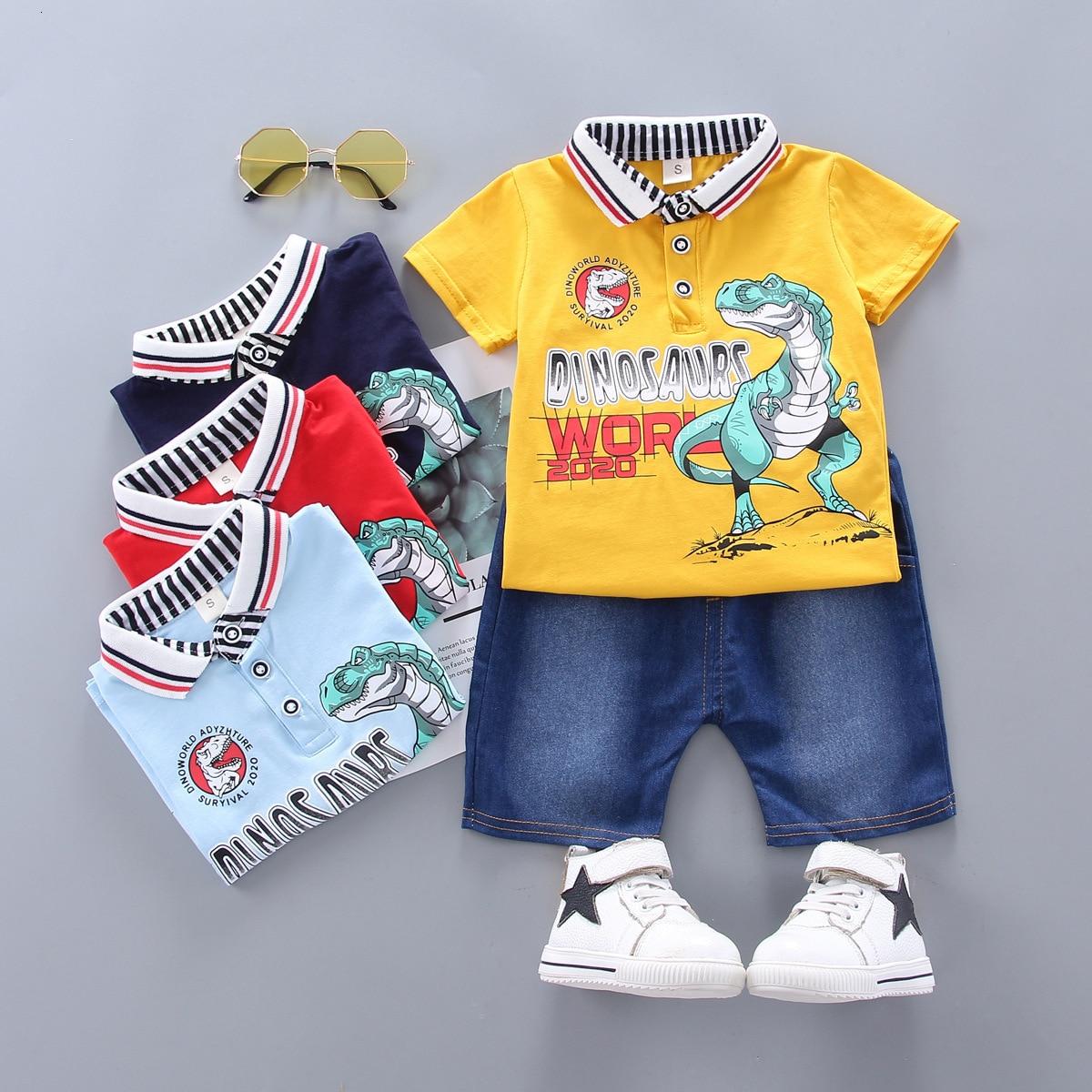 Fisher-Price Baby-Boys 2pc Short Set Short Sets