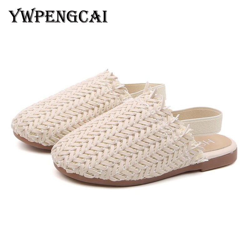YWPENGCAI Size 21-35 Kids Summer Shoes Children Sandals Close-Toed Baby Toddler Sandals Unisex Boys Girls Knitted Sandals