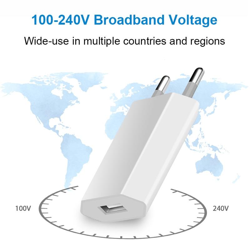 3 шт./лот, европейская штепсельная вилка европейского стандарта, штепсельная вилка стандарта США, USB AC, зарядное устройство для путешествий, ...