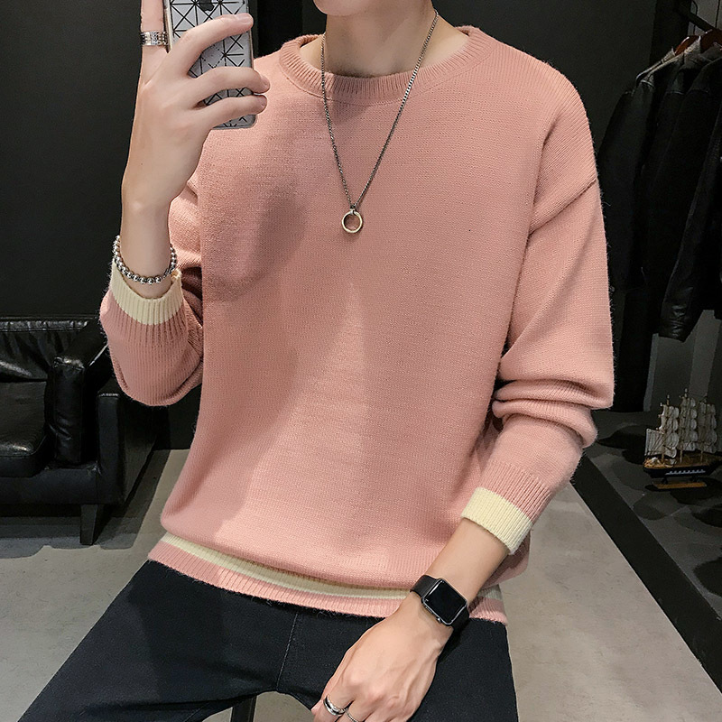 Winter Thick Sweater Men's Slim Fashion O-neck Knit Pullover Men Streetwear Knitting Sweaters Mens Warm Male Clothes M-3XL