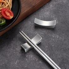 Chopstick holder stainless steel chopsticks chopstick pillow hotel restaurant display creative home tableware Kitchen supplies