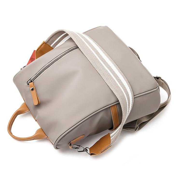 Hc9d79f46e8ba4af99ce11a3da1290646G Anti-theft women backpacks ladies large capacity backpack high quality bagpack waterproof Oxford women backpack sac a dos
