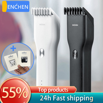 ENCHEN Hair clipper Professional hair trimmer For Men Kids Mute Home hair clippers beard Trimming machine barber tools