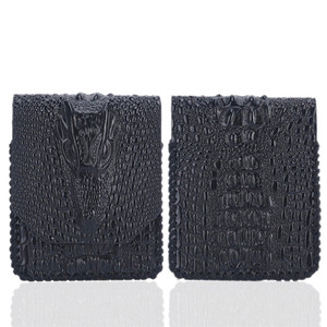 Image 3 - עור אמיתי רך מגן מקרה תיק הטלפון Z Flip טלפון אביזרי עמיד הלם כיסוי אחסון תיק פאוץ