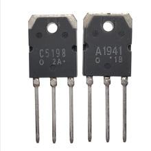 무료 배송 10pcs 2SA1941 2SC5198 TO 3P (5PCS * A1941 + 5PCS * C5198) 전용 오디오 앰프 튜브 새로운 오리지널 IC
