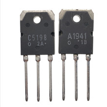 Amplificador de audio dedicado, 10 Uds. 2SA1941 2SC5198 TO 3P (5 uds. * A1941 + 5 uds. * C5198), tubo IC original nuevo