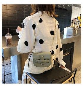Image 5 - JIULIN 2019 新しい潮クロスベルト夏チェーンシングルショルダーバッグファッション傾斜小さな正方形のバッグ