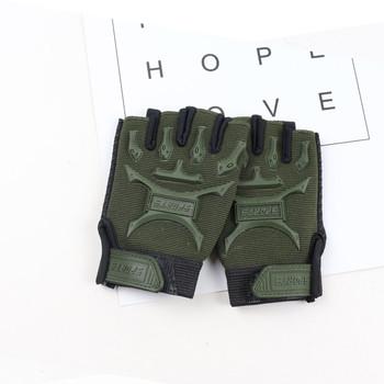 Rękawice sportowe dla dzieci na rękawice treningowe ze wsparciem nadgarstka dla Fitness kolarstwo na świeżym powietrzu akcesoria rowerowe dropshipping tanie i dobre opinie CN (pochodzenie) Poliester Pół palca Jazda na rowerze Uniwersalny Sport Gloves Zmywalna Rękawiczki