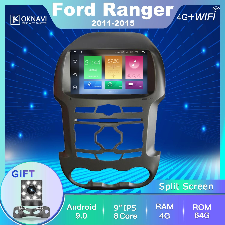 Oknavi フォードレンジャー F250 2011-2015 autoradio オートカーラジオ gps ナビゲーション、マルチメディア android 2Din タッチスクリーン dsp 9 インチ