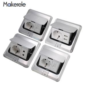 Usb-Phone Internet-Sockets Power-Outlet Electrical-Switches Pop-Up Eu-Standard Quick/slow