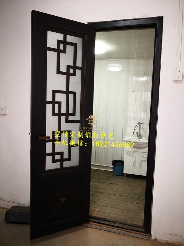 Shanghai Hench Brand China Factory 100% Custom Made Sale Australia Black Iron Front Door