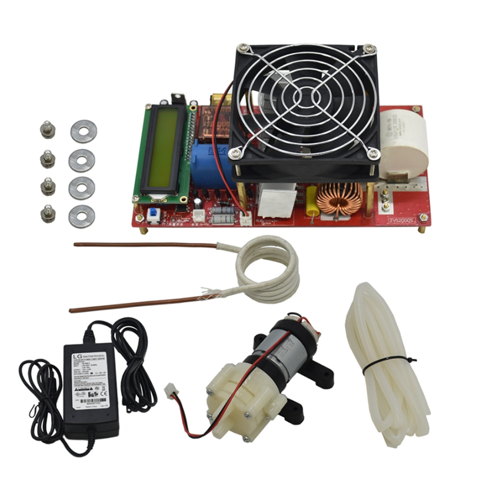ZVS 2000W Driver Temperature Protection Generator With Coil Durable Melt Metals Induction Heater Module Tool Board High Voltage