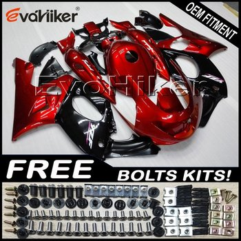 Custom fairing for YZF600R Thunderent 1997-2007 97-07ABS plastic motorcycle hull red+gifts