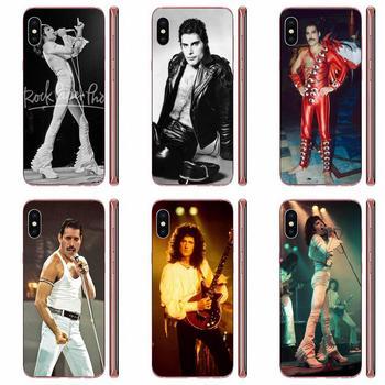 Cajas del teléfono de silicona reina Freddie Mercury para LG G3 G4 G5 G6 G7 K4 K7 K8 K10 K40 K50 Q6 Q60 V10 V20 V30 V40 Nexus 5 5X 2017