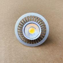 Ściemniania 7W AR70 B15D reflektory LED B15 AC85-265V DC12V dom oświetlenie komercyjne BA15D AR70 żarówka u nas państwo lampy reflektory LED tanie tanio ONDENN ROHS CN (pochodzenie) HOLIDAY 3 years Aluminium Żarówki led Nikiel szczotkowany 220 v High Brightness Knob switch