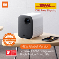 Global Version Xiaomi Projector Mini 120 Full HD 1080P DLP 500ANS Dolby Audio Android 9.0 Mi TV Content DHL Free Shipment