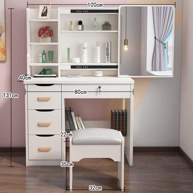 Drawer Dresser Tocador Vanity Makeup Schminktisch Mesa De Maquillaje Quarto  Table Bedroom Furniture Penteadeira Makyaj Masası