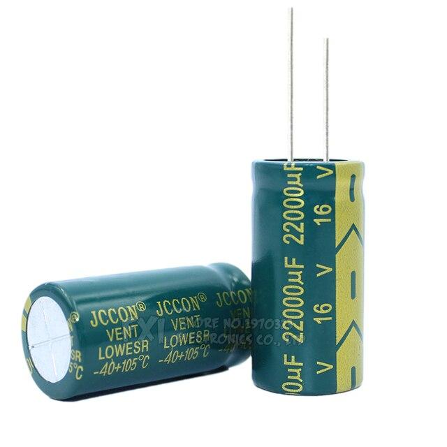 10V 16V 25V 35V 50V 400V High Frequency Low ESR Aluminum Capacitor 100UF 220UF 330UF 470UF 680UF 1000UF 1500UF 2200UF 3300UF 4