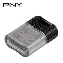 Mini unidad Flash USB 3,0 PNY, a prueba de agua, 32 GB, 64 GB, 128 GB, 256 GB, disco U, Memoria Flash usb de Metal, MB/S de escritura 200 para coche, TV,PC