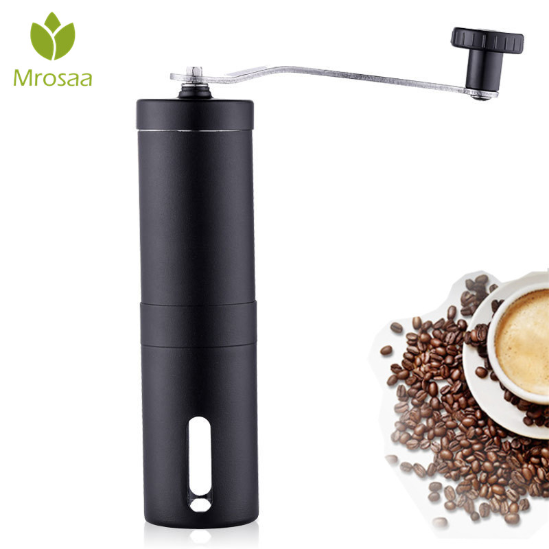 Coffee Grinder Mini Stainless Steel Hand Manual Handmade Coffee Beans Pepper Grinders Mill Kitchen Tool Spices Nut Grinders