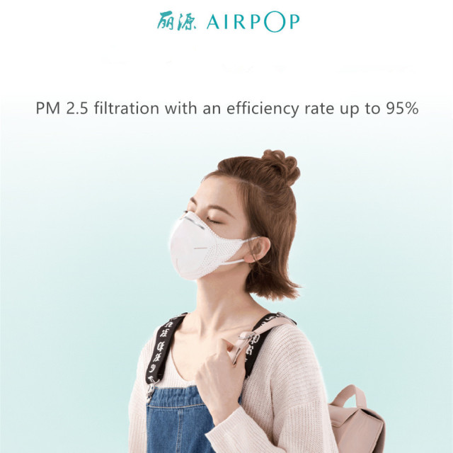 Youpin Airpop light 360 Degree Air Wear PM2.5 Mask Adjustable ear hanging Comfortable Protective mask 1