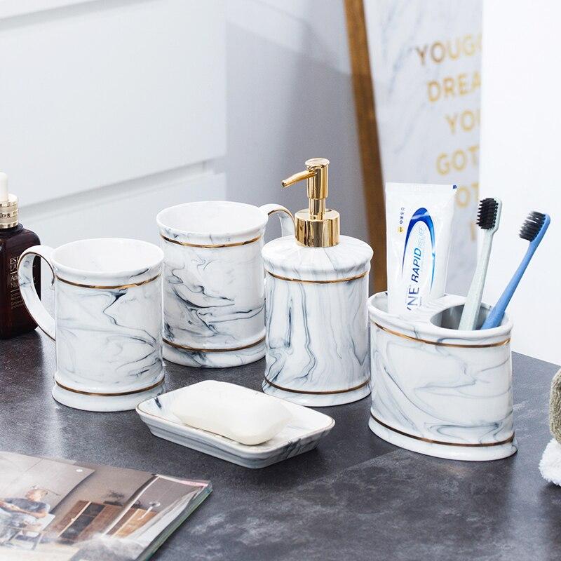 Купить керамический диспенсер для жидкого мыла держатель зубных щёток