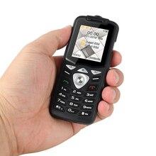 UNIWA W2026 2G GSM לדחוף כפתור מפתח תכונה הסלולר טלפון נייד Led פנס כפולה ה SIM כרטיס בכיר ילדים מיני טלפון סמארטפון