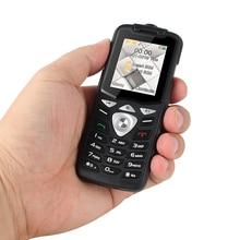 UNIWA W2026 2G GSM Pushปุ่มโทรศัพท์มือถือคุณลักษณะโทรศัพท์มือถือไฟฉายLed Dual SIM Cardอาวุโสเด็กMiniปลดล็อกโทรศัพท์