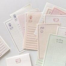 Journamm 30 sztuk Ins stylowe kreatywne codzienne sprawdzanie List notatniki notatnik szkolne materiały biurowe szkolne materiały papiernicze Notebook
