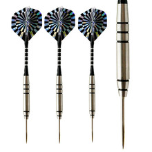 3pcs/set 26g Tungsten Steel Tip Darts Professional Competition Darts 80% Tungsten with Aluminum Dart Shafts high quality 90% tungsten darts 3pcs set 18g 14 5cm professional soft tip darts electronic dart needle with foil dart flight