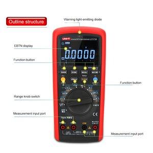 Image 5 - 産業真の実効値デジタルマルチメータ UT171B LoZ (ACV) 機能 4 20MA ループ AC + DC VFC 周波数変換 nS コンダクタンス