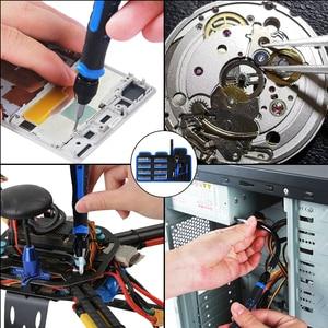 Image 5 - Kaisiドライバーセット精密ドライバーツールキット磁気フィリップスビット 126 で 1 電話ノートパソコンのpc修理ハンドツール