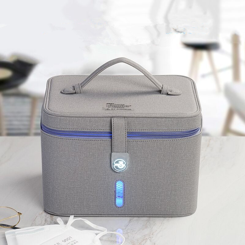 12 LEDs Ultraviolet Disinfection Handbag Household Portable Multifunctional Anti-Virus Sterilization UVC Disinfection Mommy Bags