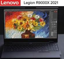 Lenovo legion r9000x 2021 amd R7-4800H 7nm cpu rtx 2060 max-q 6gb gpu 15.6 Polegada retroiluminado 144hz refresca a taxa