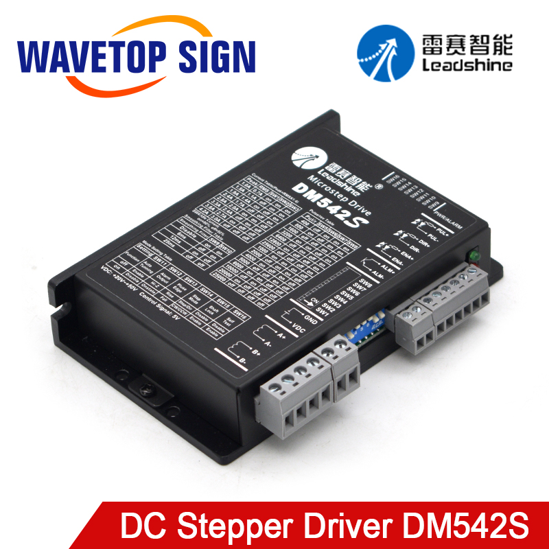 Leadshine 2Phase Stepper Motor Driver <font><b>DM542S</b></font> Supply Voltage 20-50VDC Output Current 1.0-5.0A Replace Microstep Driver DM542 image