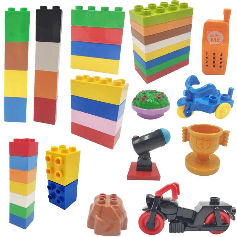 New Neuf lot kg Noir // Black Lego 3009-4x Briques // Brick 1x6