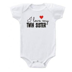 Хлопковый боди для новорожденных мальчиков и девочек, милый комбинезон с короткими рукавами для близнецов, одежда для близнецов, одежда для малышей от 0 до 24 месяцев