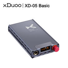 Xduoo XD05 Basic AK4490 DAC chip 500mW Output HD Digital Audio Decoding Headphone Amplifier PCM 384kHz DSD256 for PC Game Movie