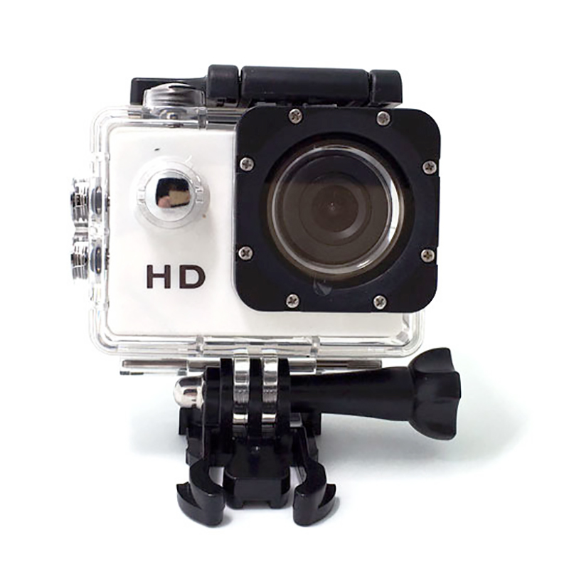 1080P Action Camera HD Adjustable Underwater Recorder Sports Cameras For Swimming Surfing Diving Underwater Waterproof