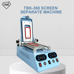 Genuine TBK-268 Separator Machine Automatic LCD Screen Frame Bezel Heating For Flat Curved Screen Glass Middle Frame Separate