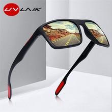 UVLAIK Brand Men Sunglasses Polarized Driving Sun Glasses