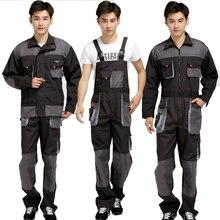 Men Bib Working Overalls Male Work Wear uniforms Fashion Tooling Overalls Worker Repairman Strap Jumpsuits