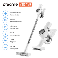Free Tariff Dreame V10 V9 Handheld Wireless Vacuum 22000Pa Cleaner Portable Cordless Cyclone Filter Carpet Dust Collector Sweep