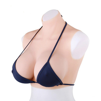 2020 Body  Silicone Breast Forms Fake Boobs Triangle Breasts Suit For Crossdresser Transvestite  Queen Postoperative Mastectomy