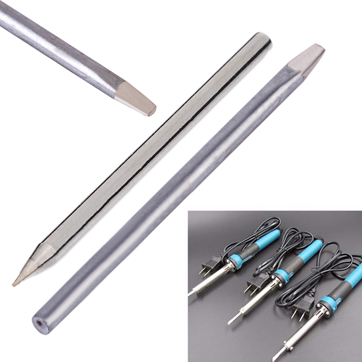 1Pcs Soldering Tip 3.7mm 30W Replaceable Electric Soldering Tools Iron Bit Welder Solder Tips Random Patterns
