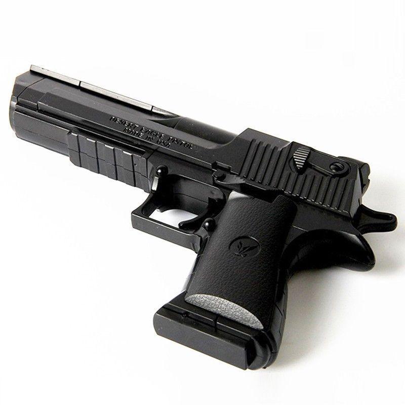 Mini arma de brinquedo das crianças bebê macio bala pistola pode disparar balas presente aniversário segurança menino brinquedo plástico pistola