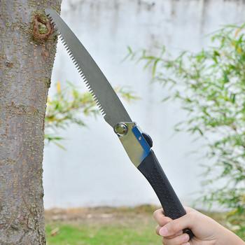 Przenośne składane camping Survival saw ostre stalowe drewno piła do drewna przycinanie przycinanie piła nóż antypoślizgowe ręczne narzędzie do cięcia ogrodu tanie i dobre opinie Halojaju Maszyny do obróbki drewna Średniej zębate 200G STEEL as show Z1807-GB30-684 Wonder Piła Wielofunkcyjny folding saw