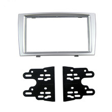 Car Dash Frame Radio Fascia for Peugeot 308 2008-UP 2DIN AutoStereo Panel kit CD Trim Installation Top Car Detector(China)
