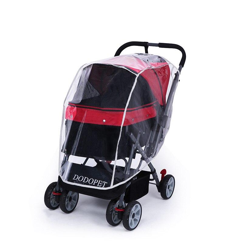 Outdoor-Pet-Cart-Dog-Cat-Carrier-Stroller-Teddy-Puppy-Out-Trolleys-Small-Cat-Foldable-Stroller-Lightweight (6)